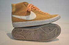 NIKE BLAZER, Mid/Hi Top,  Peach Suede Trainers, UK 4 - RARE