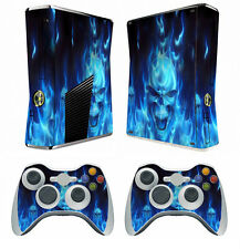 Blue Fire 256 Vinyl Decal Skin Sticker for Xbox360 slim and 2 controller skins