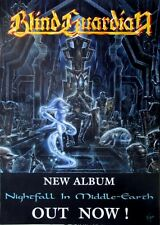 BLIND GUARDIAN - 1998 - Promoplakat - Nightfall in Middle Earth - Poster