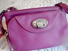 NWOT Rosetti Purple Crossbody Organizer Bag