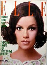ELLE 04/1968: GENEVIEVE BUJOLD_MARIE-ANTOINETTE_Publicité SHEILA_CHARLES BOYER