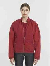 SILENT DAMIR DOMA JABRUM RED COTTON BOMBER JACKET M BNWT $795