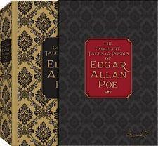 THE COMPLETE TALES & POEMS OF  - EDGAR ALLEN POE EDGAR ALLAN POE (HARDCOVER) NEW