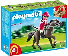 BNIB Playmobil 5112 HORSES Racehorse with Rider and Stable