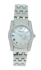 Caravelle by Bulova 43L129 Women's Round Analog Mother of Pearl Butterfly Watch