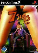 7 SINS per PS2 PLAYSTATION 2! Con custodia e manuale! seven