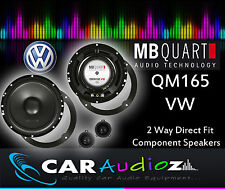MB Quart QM-165 VW Custom Component Kit 16.5cm Speakers for Golf Mk4 Passat Bora