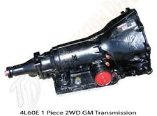 4L60E GM Stock Replacement Transmission 2WD1 Piece Unit 400HP