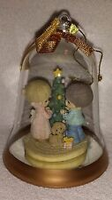 "Precious Moments ""Our First Christmas Together"" Glass Bell Ornament (undated)"