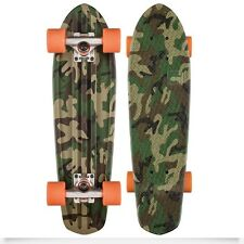 Skate Set Globe BANTAM Grafik 24 Camo Orange Skateboard Cruiser Neu