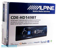 Alpine CDE-HD149BT CD/MP3/USB/CAR HD RADIO /BLUETOOTH/PANDORA/ANDROID/IPHONE
