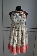 950$ RED Valentino dress Silk 42 S M bow rope cocktail BARGAIN  No Reserve