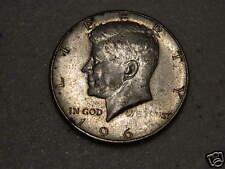 """1965 Kennedy Half Dollar WEAK """"5 + WE TRUST """"   US ERROR COIN"""