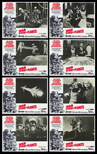 WAR BETWEEN THE PLANETS lobby card set GIACOMO ROSSI-STUART 11x14 movie posters