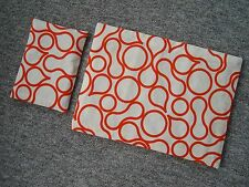 REVERSIBLE CIRCLES  DOLLS BEDDING COT / PRAM BUGGY QUILT &  PILLOW SET HANDMADE