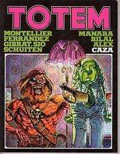 Fumetto TOTEM EDIZIONE NUOVA FRONTIERA ANNO 1980 NUMERO 4