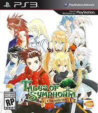 Tales of Symphonia Chronicles [PlayStation 3 PS3 Exclusive HD RPG 90 Hours) NEW