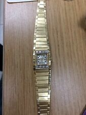 14kt YELLOW GOLD SWISS LUCERNE DIAMOND WATCH & 14kt BAND