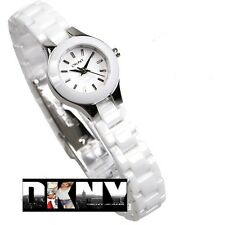 DKNY WOMEN'S  LUXURY WHITE CERAMIC COLLECTION WATCH NY8644