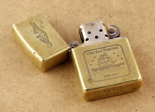 Zippo 1932-1991 Brass Lighter USS BALTIMORE SSN-704