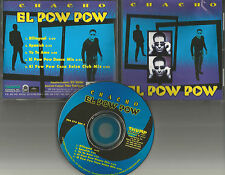 CHACHO El Pow Wow / Yo Te Amo SPANISH & BILLINGUAL & MIXES 5TRX CD single USA