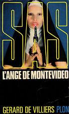 SAS // L'Ange de Montevideo // Gérard De VILLIERS // Erotique // 1 ère Edition