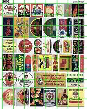 2002 DAVE's DECALS VINTAGE BEER TOBACCO FOX OLD BUILDING SIGNS ADVERTISING MORE