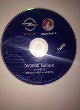 OPEL Europa DVD 800 Navi Update DVD 2014 Insignia Astra J Meriva MY 2011