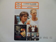 CARTE FICHE CINEMA 2001 A L'OMBRE DE LA HAINE Billy Bob Thornton Halle Berry