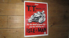 The Isle of Man TT Races 1961 Repro POSTER