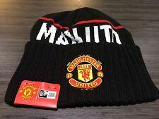 Manchester United New Era Beanie Toque Cap Hat Soccer European Football Cuffed