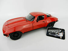 1:24 JADA TOYS *FATE OF THE FAST & FURIOUS* LETTY'S 1966 Corvette *DIECAST* NEW!