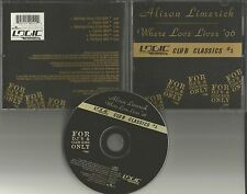 ALISON LIMERICK & PAUL OAKENFOLD Where Love Lives 96 6TRX MIXES & EDIT CD single