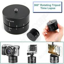 360°Automatic Motorized Rotating Time Lapse Panoramic Ball Tripod Head For Gopro