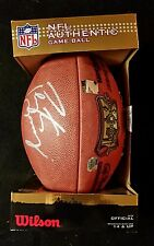"NFL Peyton Manning Super Bowl 41 Autographed ""Duke"" Football + Display Case"