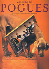 Best Of The Pogues Learn to Play Pop PIANO Guitar PVG Music Book