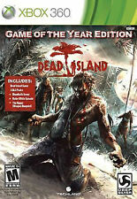 Dead Island Game of the Year Edition 2012 XBOX 360 PREOWNED FREE SHIP GR8 SHAPE!