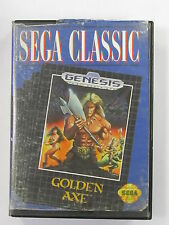 Golden Axe COMPLETE (Sega Genesis, 1989) CLEANED & TESTED! FAST SHIPPING! L@@k
