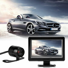 "Car Rear View Kit 4.3"" TFT LCD Monitor+Night Vision 170° Car Reversing Camera UK"