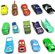 Disney Pixar Cars McQueen Mater Sarge Guido Luigi Ramone Figures Lot Of 14pc Car