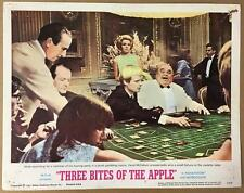 David McCallum at the roulette table Three Bites of the Apple #2 lobby card 1108