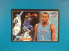 2009-10 Panini NBA Basketball n.236 Kyle Weaver Oklahoma City Thunder