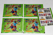 Panini EM EC Euro 96 1996 – 5 x TÜTE PACKET BUSTINA SOBRE INTERNATIONAL EDITION