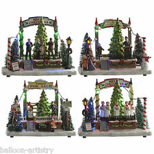 Merry Christmas LED Light Up Festive Fete Town Square Indoor Lights Decoration