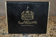 Vintage 1951 Golden Nugget 5th Anniversary Las Vegas Casino Deck Playing Cards