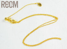 Juicy Couture Basic Chain Necklace DIY collection Gold