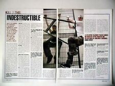 COUPURE DE PRESSE-CLIPPING :  KILL 2 THIS [2pages]06/2003 Mark Mynett,Mass...Sin