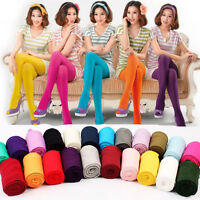 Women Opaque Footed Thick Warm Autumn Winter Stockings Socks Pantyhose Tights