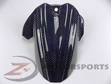 2006-2010 GSXR600 GSXR750 Rear Tire Hugger Mud Guard Fairing Carbon Fiber Blue