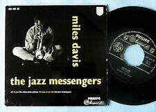 "MILES DAVIS and the jazz messengers   EP 7""  Philips original"